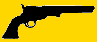 Revolver antique à poudre noire
