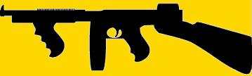 Armes de gangsters, Chicago des années 30